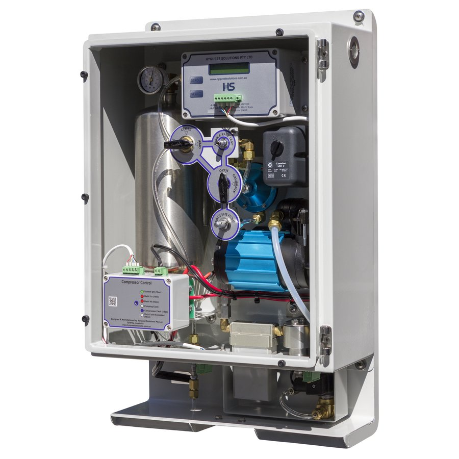 HS40 Series II Gas Purge Compressor and Bubbler System
